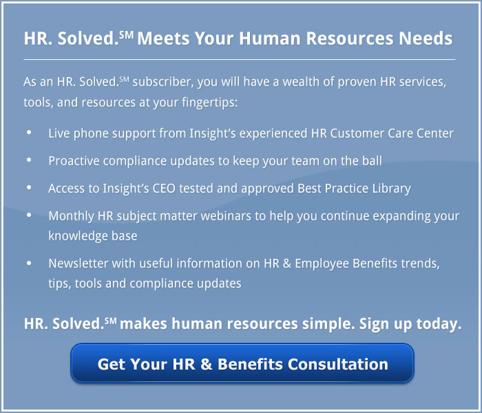 HR. Solved. SM. Human Resources Needs