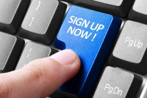 sign up now button insight human resources